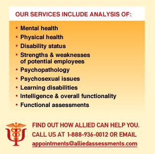 Our Services Include Analysis of: